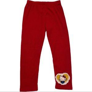 Misha LuLu Hello Kitty Red Leggings 4